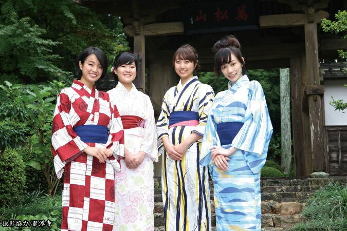 井伊谷四季の旅館浴衣(井伊直虎コンセプト)