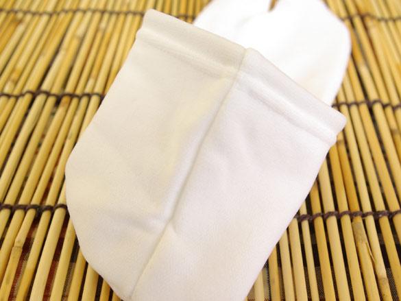 日本製 業務用アメニティ たびっくす 紳士用 白/白