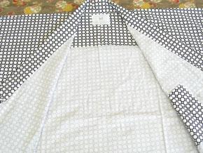 中国製業務用旅館浴衣男女兼用 水玉柄
