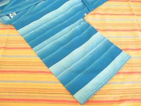 日本製 子供浴衣 鰹縞柄