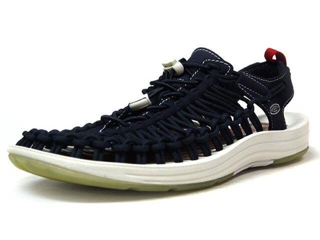 "KEEN UNEEK ""mita sneakers""  NVY/WHT/RED (1017206)"