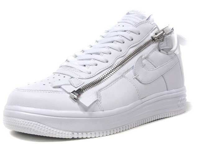 "NIKE LUNAR FORCE 1 ACRONYM 17 ""ACRONYM / ERROLSON HUGH"" ""AF-100"" ""LIMITED EDITION for NONFUTURE""  WHT/WHT (AJ6247-100)"