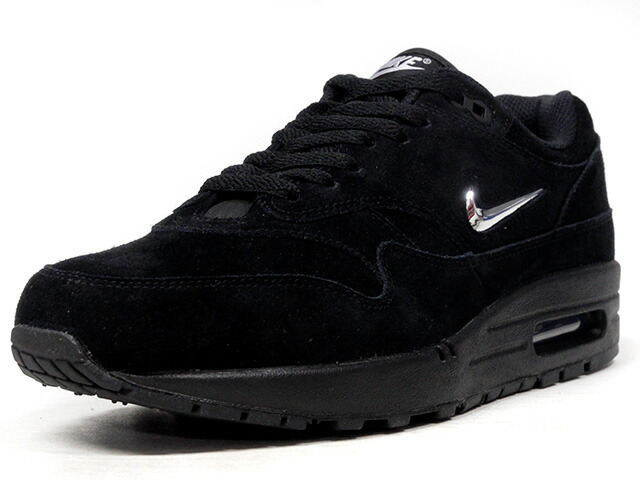 "NIKE AIR MAX 1 PREMIUM SC ""JEWEL SWOOSH"" ""LIMITED EDITION for NSW BEST""  BLK/SLV/GRY (918354-005)"