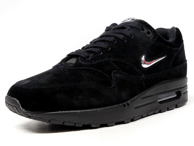 "NIKE (WMNS) AIR MAX 1 PREMIUM SC ""JEWEL SWOOSH"" ""LIMITED EDITION for NSW BEST""  BLK/SLV (AA0512-001)"