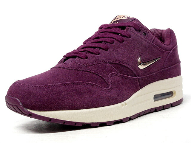 "NIKE (WMNS) AIR MAX 1 PREMIUM SC ""JEWEL SWOOSH"" ""LIMITED EDITION for NSW BEST""  PPL/SLV/NAT (AA0512-600)"