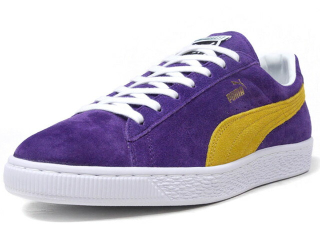 "Puma SUEDE CLASSIC X COLLECTORS ""made in JAPAN"" ""SUEDE 50th ANNIVERSARY"" ""KA LIMITED EDITION""  PPL/YEL/WHT (366247-01)"