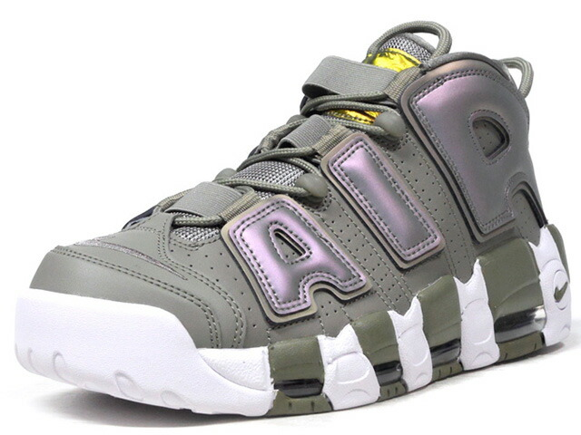 """NIKE (WMNS) AIR MORE UPTEMPO '96 """"SHINE"""" """"LIMITED EDITION for NSW BEST""""  OLV/METRIC/WHT (917593-001)"""