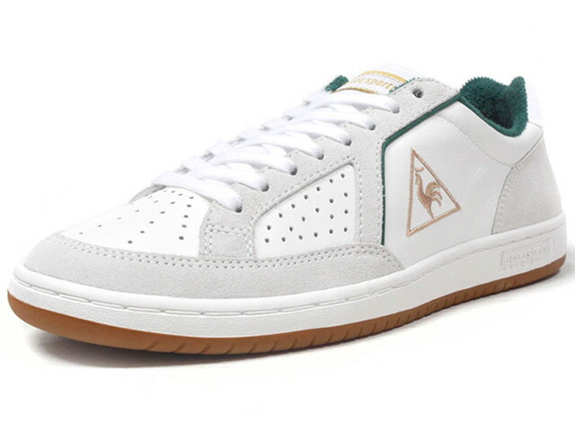 "le coq sportif ICONS LEATHER ""SUPPORTER PACK"" ""LIMITED EDITION for SELECT""  WHT/L.GRY/GRN/GLD/GUM (1810281)"