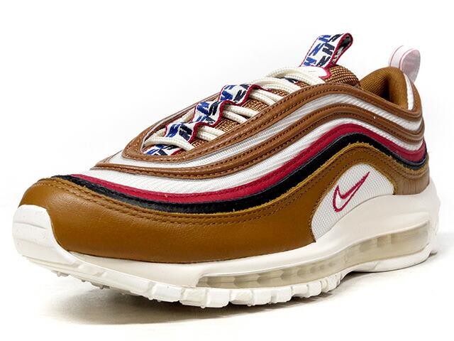 """NIKE AIR MAX 97 TT PRM """"PULL TAB PACK"""" """"LIMITED EDITION for NONFUTURE""""  BRN/O.WHT/RED/BLK (AJ3053-200)"""