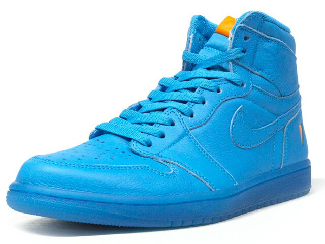 "NIKE AIR JORDAN 1 RETRO HIGH OG G8RD ""GATORADE"" ""MICHAEL JORDAN"" ""LIMITED EDITION for NONFUTURE""  BLU/ORG (AJ5997-455)"
