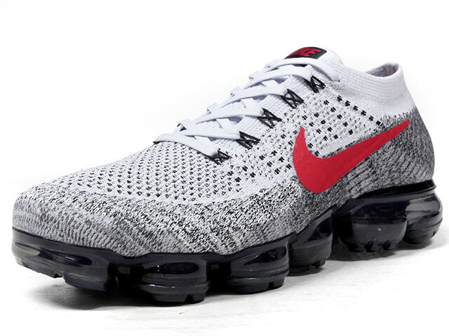 "NIKE AIR VAPORMAX FLYKNIT ""LIMITED EDITION for RUNNING""  GRY/BLK/RED/CLA (849558-020)"