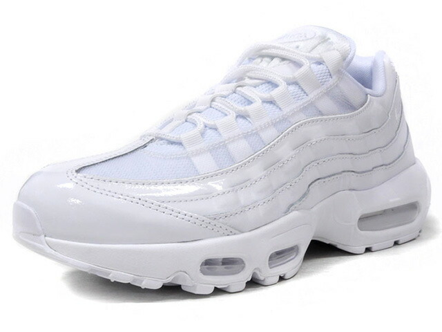 """NIKE (WMNS) AIR MAX 95 """"TRIPLE WHITE"""" """"LIMITED EDITION for ICONS""""  WHT/WHT (307960-108)"""