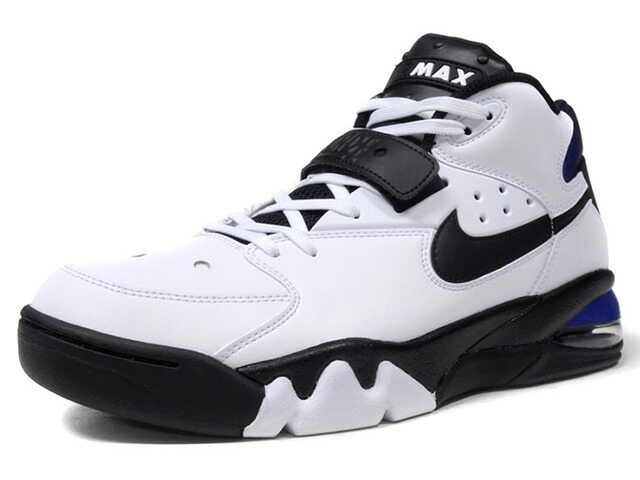 """NIKE AIR FORCE MAX """"CHARLES BARKLEY"""" """"LIMITED EDITION for NSW BEST""""  WHT/BLK/BLU (AH5534-100)"""