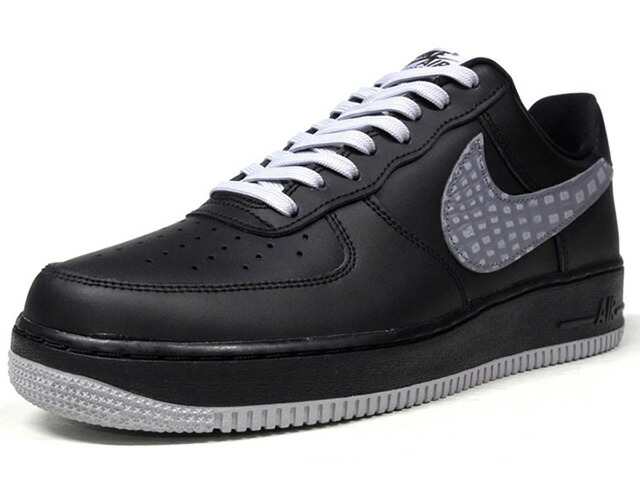 "NIKE AIR FORCE 1 07 LV8 ""LIMITED EDITION for ICONS""  BLK/GRY (823511-012)"
