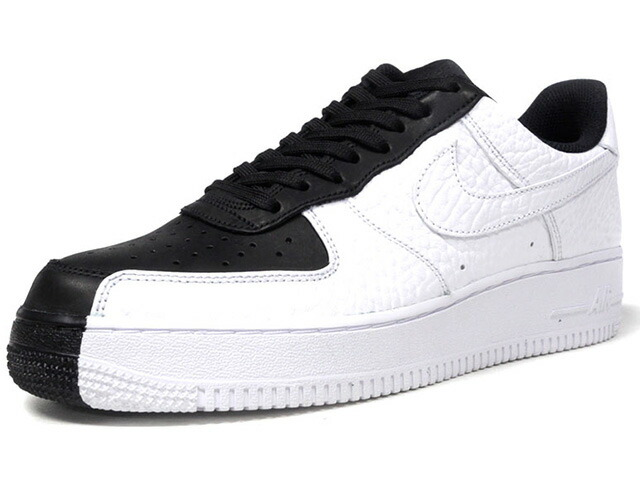 "NIKE AIR FORCE 1 07 PRM ""LIMITED EDITION for ICONS""  BLK/WHT (905345-004)"
