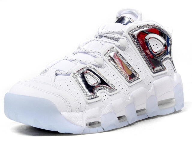 "NIKE (WMNS) AIR MORE UPTEMPO '96 ""CHROME"" ""LIMITED EDITION for NSW BEST""  WHT/SLV (917593-100)"