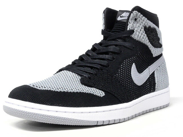 "NIKE AIR JORDAN 1 RETRO HI FLYKNIT ""SHADOW"" ""MICHAEL JORDAN"" ""LIMITED EDITION for JORDAN BRAND""  BLK/GRY/WHT (919704-003)"