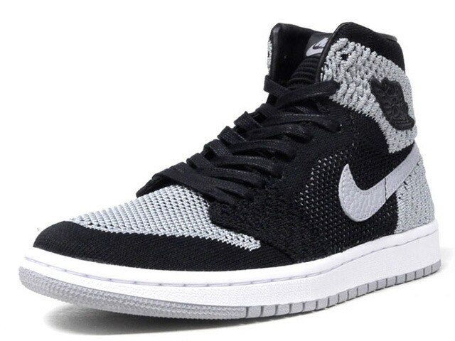 "NIKE AIR JORDAN 1 RETRO HI FLYKNIT BG ""SHADOW"" ""MICHAEL JORDAN"" ""LIMITED EDITION for JORDAN BRAND""  BLK/GRY/WHT (919702-003)"
