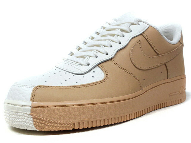 "NIKE AIR FORCE 1 07 PRM ""LIMITED EDITION for ICONS""  O.WHT/BGE (905345-105)"