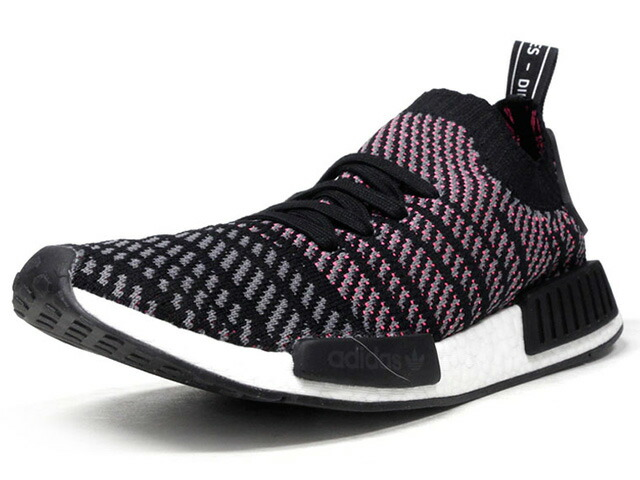 "adidas NMD R1 STLT PK ""SOLAR PINK"" ""LIMITED EDITION""  BLK/PNK/GRY (CQ2386)"