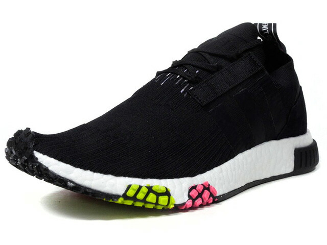 "adidas NMD RACER PK ""URBAN RACING"" ""LIMITED EDITION""  BLK/WHT/PNK/YEL (CQ2441)"