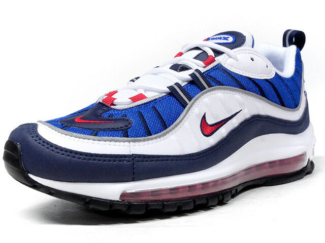 "NIKE AIR MAX 98 ""GUNDAM"" ""LIMITED EDITION for NONFUTURE""  WHT/BLU/NVY/RED (640744-100)"