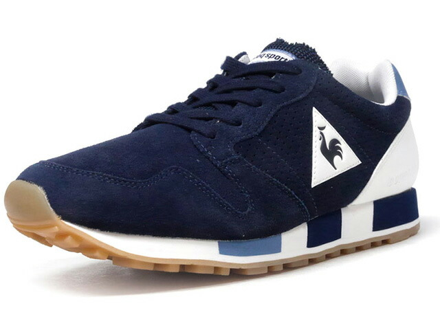 "le coq sportif OMEGA PREMIUM ""LIMITED EDITION for BETTER +""  NVY/WHT/L.BLU/GUM (1810183)"