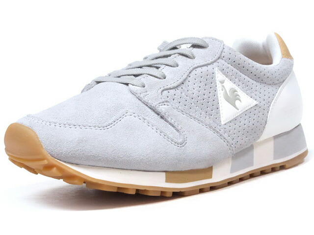 "le coq sportif OMEGA PREMIUM ""LIMITED EDITION for BETTER +""  GRY/WHT/BGE/GUM (1810184)"
