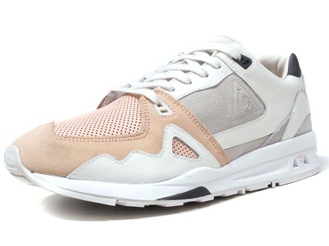 "le coq sportif LCS R 1000 X HAL ""CYGNET"" ""HIGHS AND LOWS"" ""LIMITED EDITION for Le CLUB""  WHT/L.GRY/PNK/NVY (1810824)"