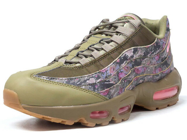 "NIKE (WMNS) AIR MAX 95 ""FLORAL CAMO"" ""LIMITED EDITION for NSW""  OLV/FLOWER/GUM (AQ6385-200)"