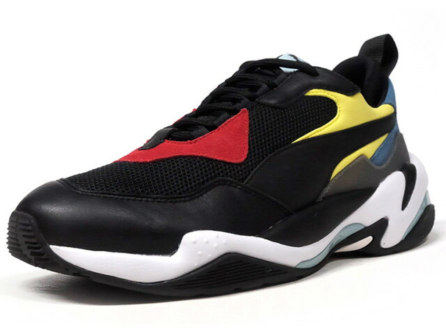 "Puma THUNDER SPECTRA ""LIMITED EDITION for CREAM""  BLK/RED/YEL/L.BLU/E.GRN/WHT (367516-01)"