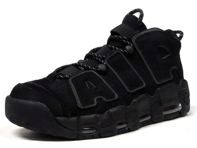 "NIKE AIR MORE UPTEMPO ""LIMITED EDITION for NSW""  BLK/BLK (414962-004)"