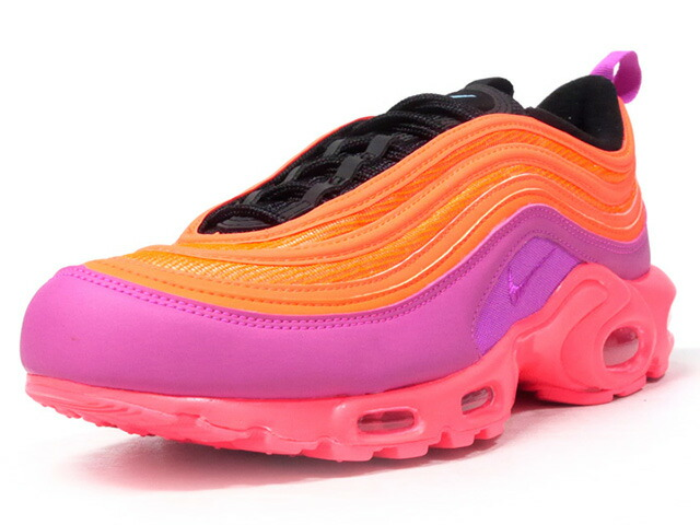 "NIKE AIR MAX PLUS 97 ""RACER PINK"" ""LIMITED EDITION for NONFUTURE""  N.ORG/N.PNK/BLK (AH8143-600)"