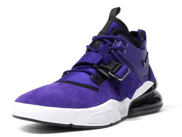 "NIKE AIR FORCE 270 QS PRPL ""COURT PURPLE"" ""LIMITED EDITION for NONFUTURE""  PPL/BLK/WHT (AQ1000-500)"