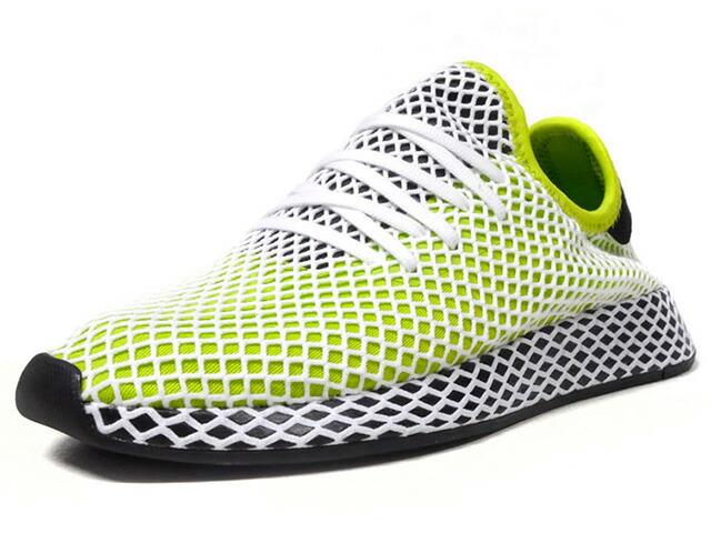 "adidas DEERUPT RUNNER ""LIMITED EDITION""  L.GRN/BLK/WHT (B27779)"