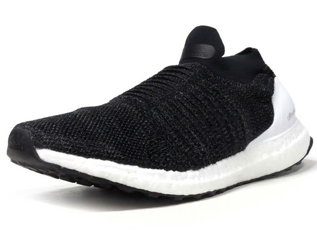 "adidas ULTRA BOOST LACELESS ""LIMITED EDITION""  BLK/WHT (BB6140)"