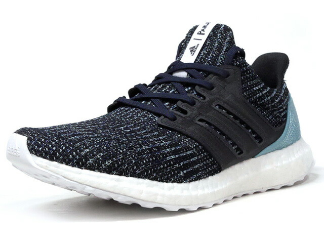"adidas ULTRA BOOST PARLEY ""Parley for the Oceans""  NVY/BLK/SAX/WHT (CG3673)"
