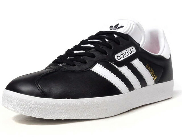 "adidas GAZELLE SUPER ESSENTIAL ""LIMITED EDITION""  BLK/WHT/GLD (CQ2794)"