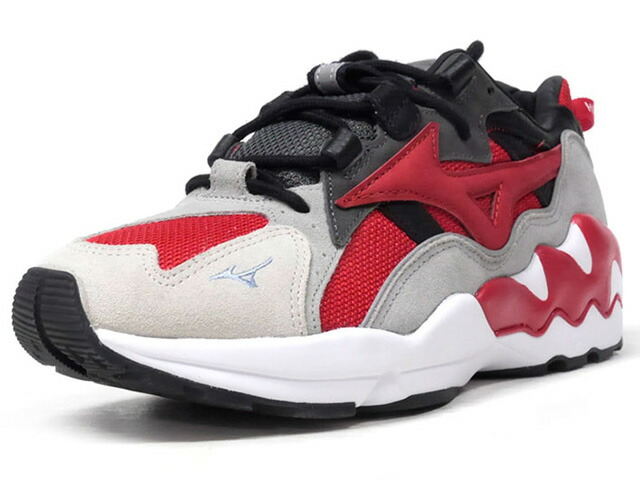 "MIZUNO WAVE RIDER 1 PHOENIX ""HIGHSNOBIETY"" ""LIMITED EDITION for KAZOKU""  RED/BLK/GRY/WHT (D1GD180162)"