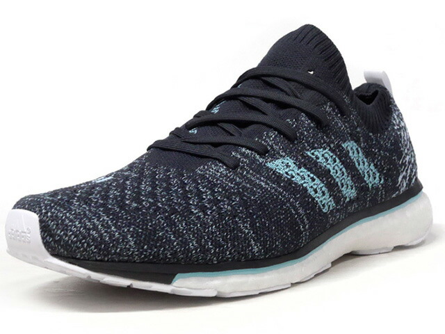"""adidas ADIZERO PRIME BOOST PARLEY """"Parley for the Oceans""""  NVY//BLK/SAX/WHT (DB1252)"""