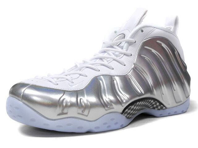 "NIKE (WMNS) AIR FOAMPOSITE ONE ""CHROME"" ""LIMITED EDITION for NONFUTURE""  WHT/SLV (AA3963-100)"