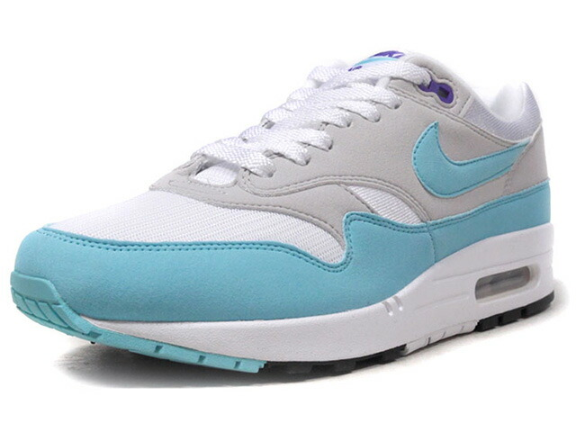 "NIKE AIR MAX 1 ANNIVERSARY ""AIR MAX 1 30th ANNIVERSARY"" ""LIMITED EDITION for NONFUTURE""  WHT/GRY/SAX/PPL (908375-105)"