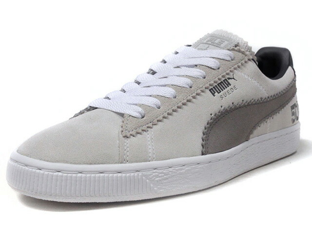 """Puma SUEDE CLASSIC X MICHAEL LAU """"SAMPLE SUEDE"""" """"MICHAEL LAU"""" """"SUEDE 50th ANNIVERSARY"""" """"KA LIMITED EDITION""""  L.GRY/GRY/WHT (366313-01)"""