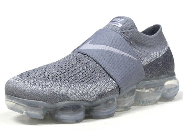 "NIKE (WMNS) AIR VAPORMAX FLYKNIT MOC ""WOLF GREY"" ""LIMITED EDITION for RUNNING FLYKNIT""  GRY/CLEAR (AA4155-006)"
