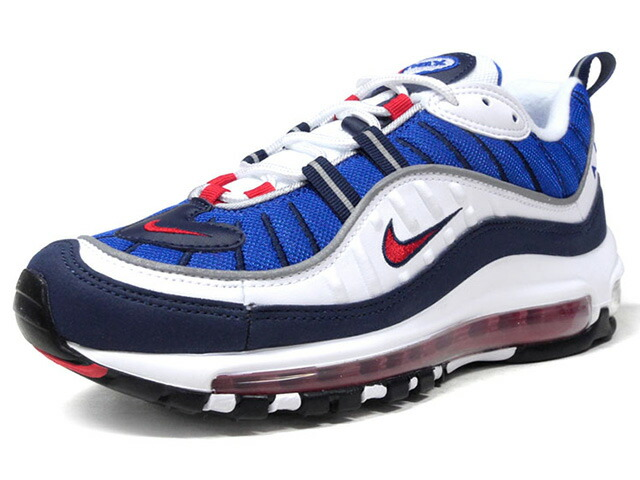 """NIKE (WMNS) AIR MAX 98 """"GUNDAM"""" """"LIMITED EDITION for NONFUTURE""""  WHT/BLU/NVY/RED (AH6799-100)"""