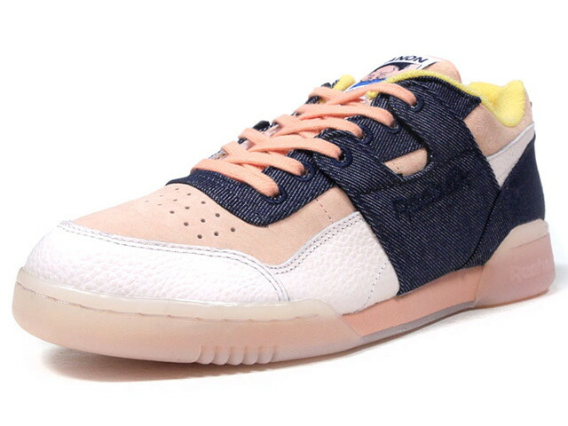 "Reebok WORKOUT LO PLUS HANON ""Belly,Belly,Belly"" ""HANON"" ""FITNESS HERITAGE"" ""LIMITED EDITION for CERTIFIED NETWORK""  PNK/IDG/L.PNK/YEL (BS7771)"