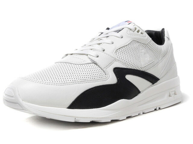 "le coq sportif LCS R 800 MIF ""made in FRANCE"" ""SMOKING PACK"" ""LIMITED EDITION for Le CLUB""  WHT/BLK (1810272)"