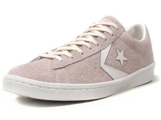 "CONVERSE PRO-LEATHER SUEDE OX ""CHEVRON & STAR HTG"" ""LIMITED EDITION""  PNK/WHT/NAT (32755502)"