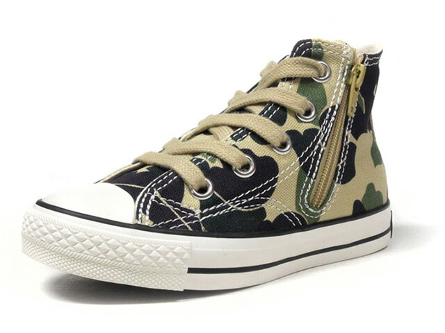 "CONVERSE CHILD ALL STAR N 70 Z HI ""LIMITED EDITION""  CAMO/WHT/BLK (32712744)"