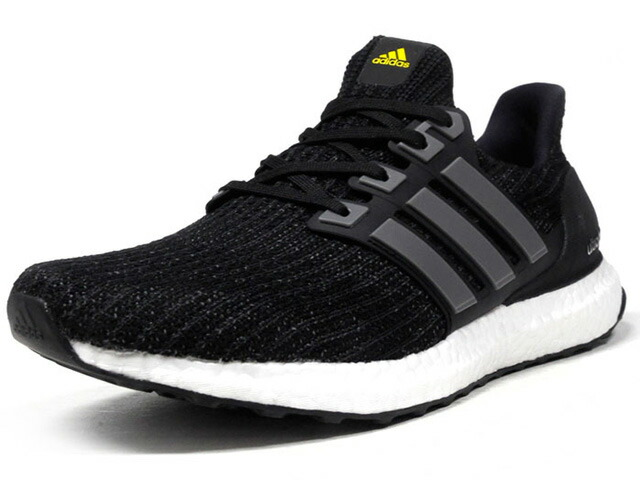 "adidas ULTRA BOOST LTD ""BOOST 5th ANNIVERSARY"" ""LIMITED EDITION""  BLK/GRY/YEL (BB6220)"